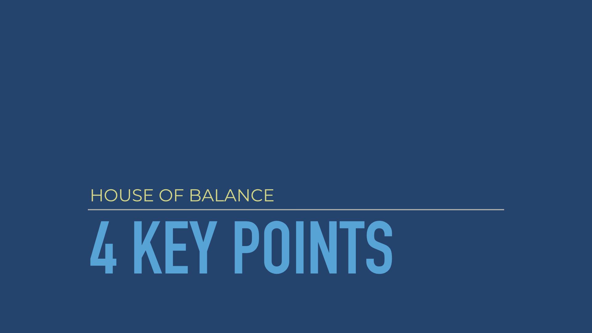 Our 4 Key Points: Mitarbeiter Förderungspunkte, Engagement Umfrage, Turn Over, Abwesenheitskosten