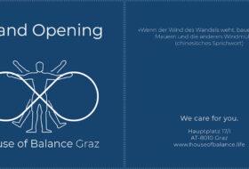 House of Balance Graz Grand Opening