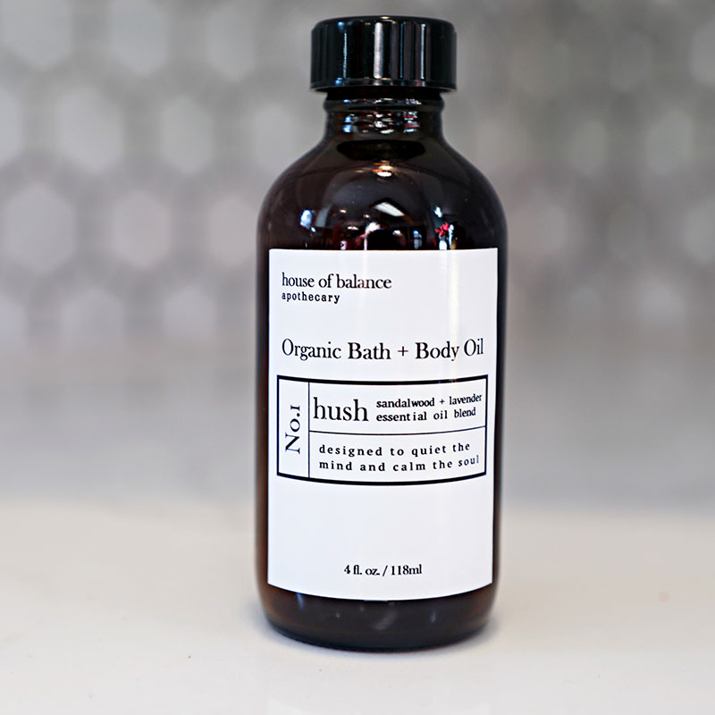 Hush Organic Bath & Body Oil - HOB